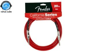 Cable para Instrumento Fender California Candy Apple Red 6M 0990520009