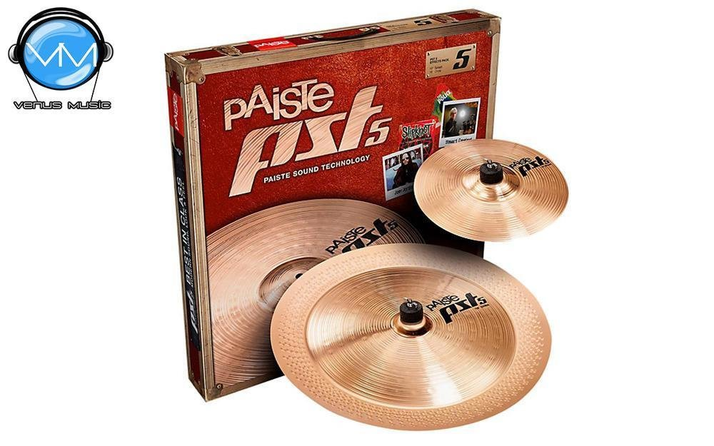 Paiste New Pst 5 Effects Pack 10/18