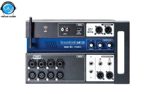 UI-12 SOUNDCRAFT CONSOLA DIGITAL 12 CANALES FORMATO STAGE BOX