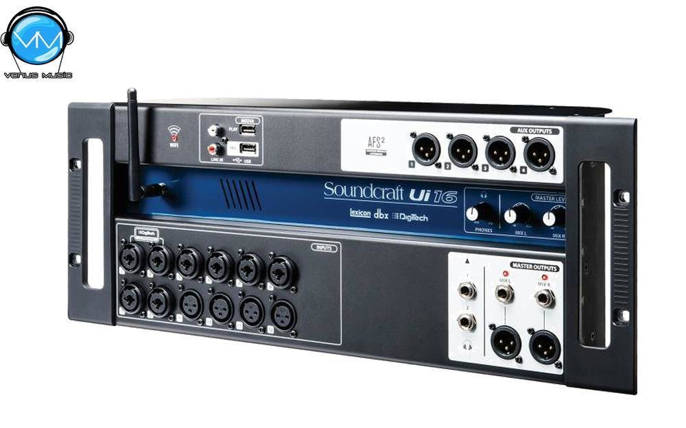 UI-16 SOUNDCRAFT CONSOLA DIGITAL 16 CANALES FORMATO STAGE BOX